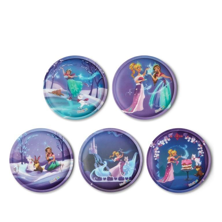 Klettie Set Prinzessin auf dem Eis, Farbe: flieder/lila, Marke: Ergobag, EAN: 4057081080069, Bild 1 von 1