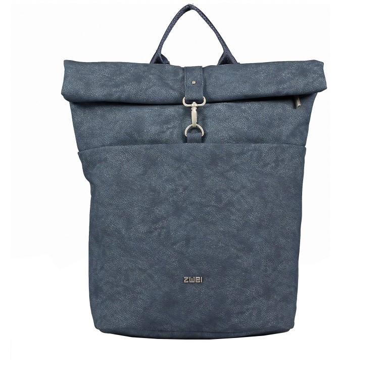 Rucksack Mademoiselle MR180 Nubuk Blue, Farbe: blau/petrol, Marke: Zwei, EAN: 4250257924079, Bild 1 von 6