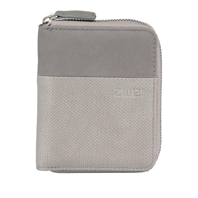 Geldbörse Eva Wallet EVW10 Canvas Grey, Farbe: grau, Marke: Zwei, EAN: 4250257922839, Abmessungen in cm: 10.0x13.0x4.0, Bild 1 von 6