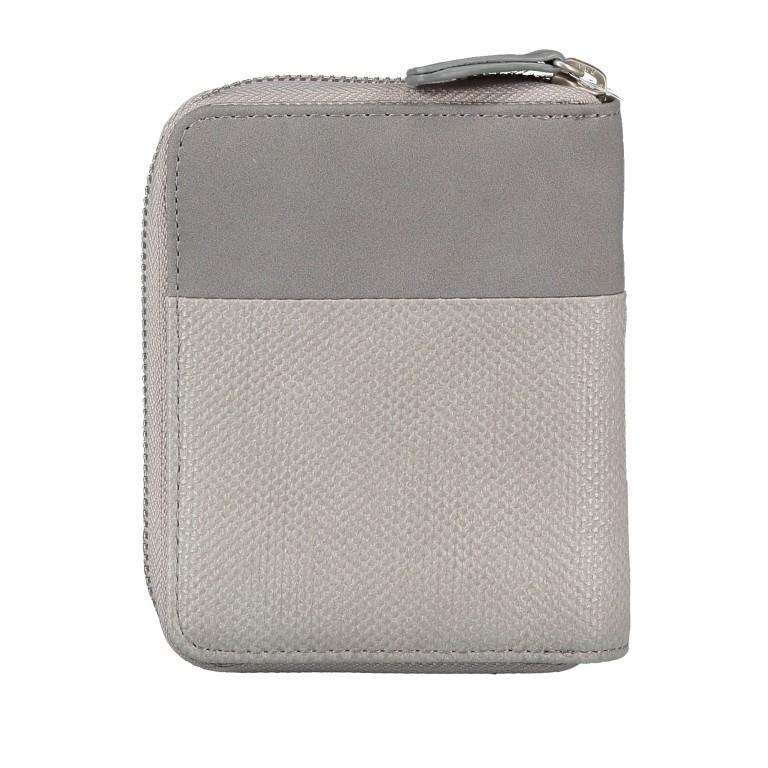 Geldbörse Eva Wallet EVW10 Canvas Grey, Farbe: grau, Marke: Zwei, EAN: 4250257922839, Abmessungen in cm: 10.0x13.0x4.0, Bild 4 von 6