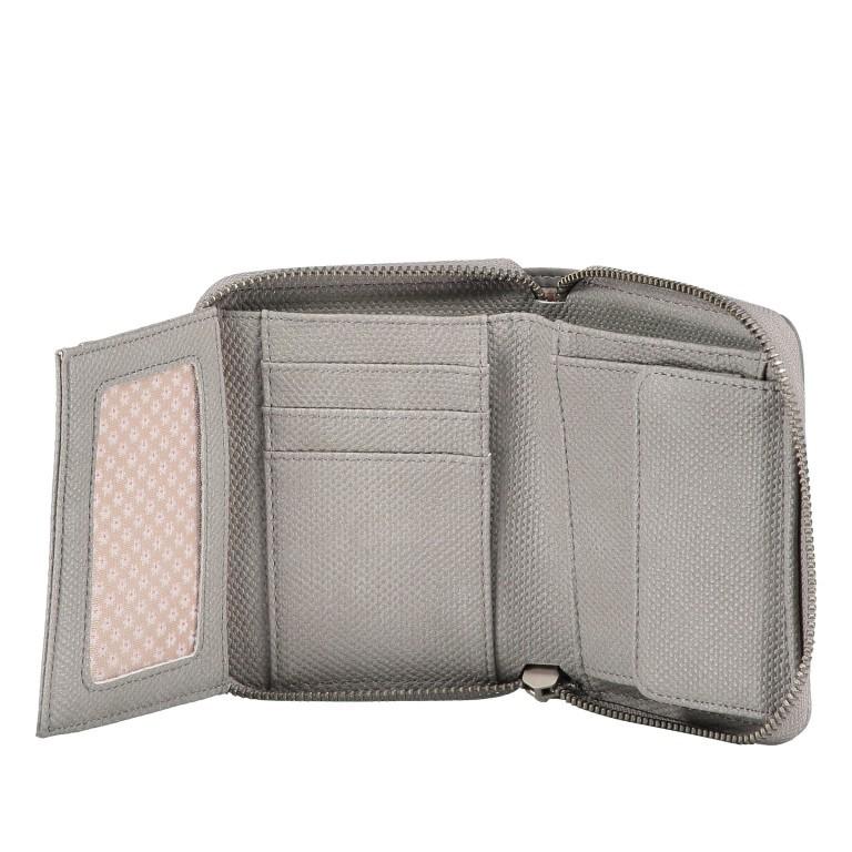 Geldbörse Eva Wallet EVW10 Canvas Grey, Farbe: grau, Marke: Zwei, EAN: 4250257922839, Abmessungen in cm: 10.0x13.0x4.0, Bild 6 von 6