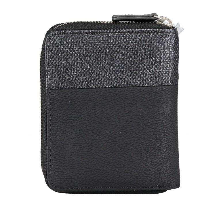 Geldbörse Eva Wallet EVW10 Nubuk Black, Farbe: schwarz, Marke: Zwei, EAN: 4250257922860, Abmessungen in cm: 10.0x13.0x4.0, Bild 4 von 6