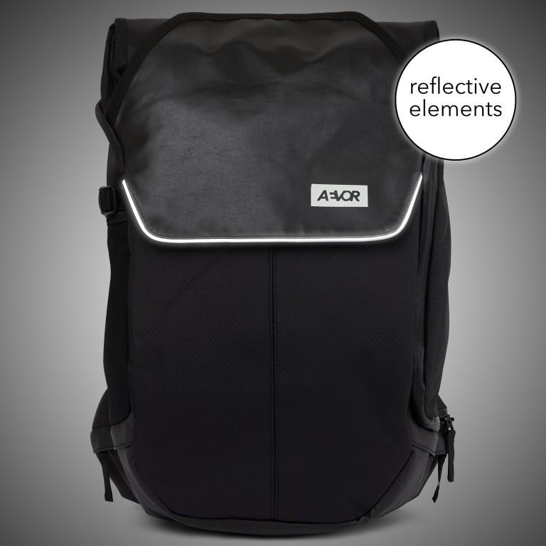Fahrradtasche Bike Pack Black, Farbe: schwarz, Marke: Aevor, EAN: 4057081069675, Abmessungen in cm: 38.0x51.0x17.0, Bild 11 von 15