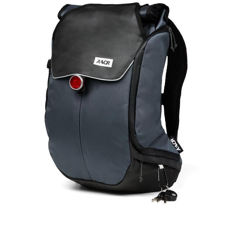 Fahrradtasche Bike Pack, Farbe: schwarz, blau/petrol, grün/oliv, Marke: Aevor, Abmessungen in cm: 38.0x51.0x17.0, Bild 2 von 15