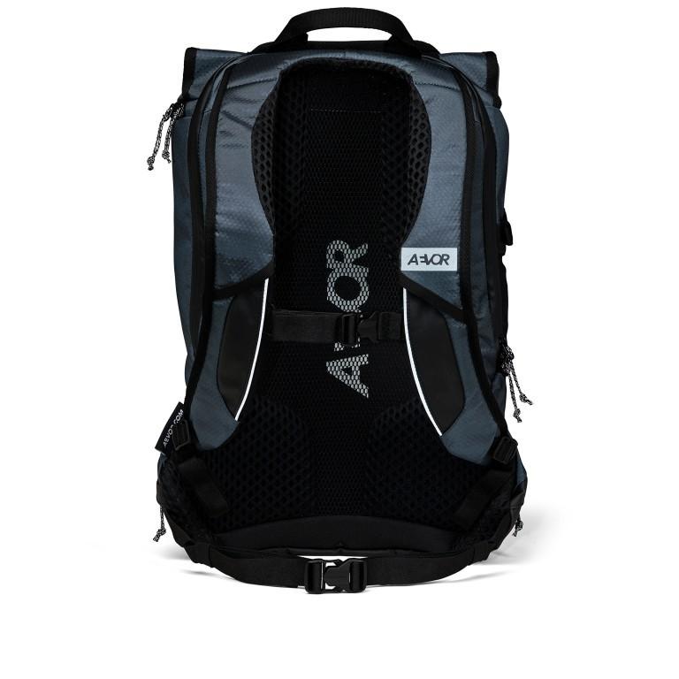 Fahrradtasche Bike Pack, Farbe: schwarz, blau/petrol, grün/oliv, Marke: Aevor, Abmessungen in cm: 38.0x51.0x17.0, Bild 4 von 15