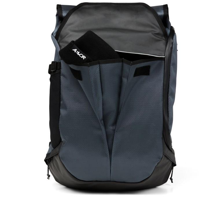 Fahrradtasche Bike Pack, Farbe: schwarz, blau/petrol, grün/oliv, Marke: Aevor, Abmessungen in cm: 38.0x51.0x17.0, Bild 6 von 15