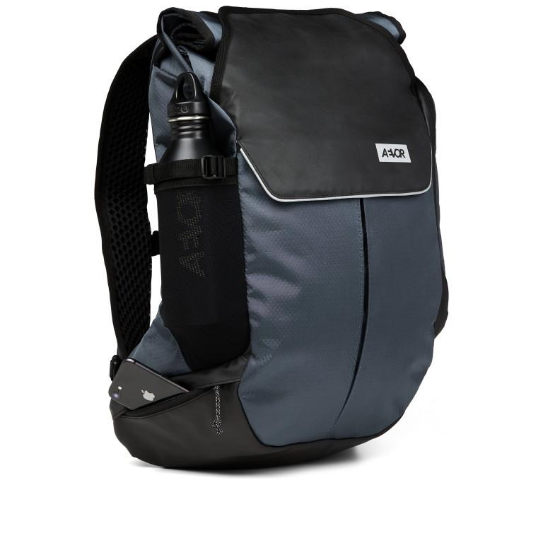 Fahrradtasche Bike Pack, Farbe: schwarz, blau/petrol, grün/oliv, Marke: Aevor, Abmessungen in cm: 38.0x51.0x17.0, Bild 7 von 15