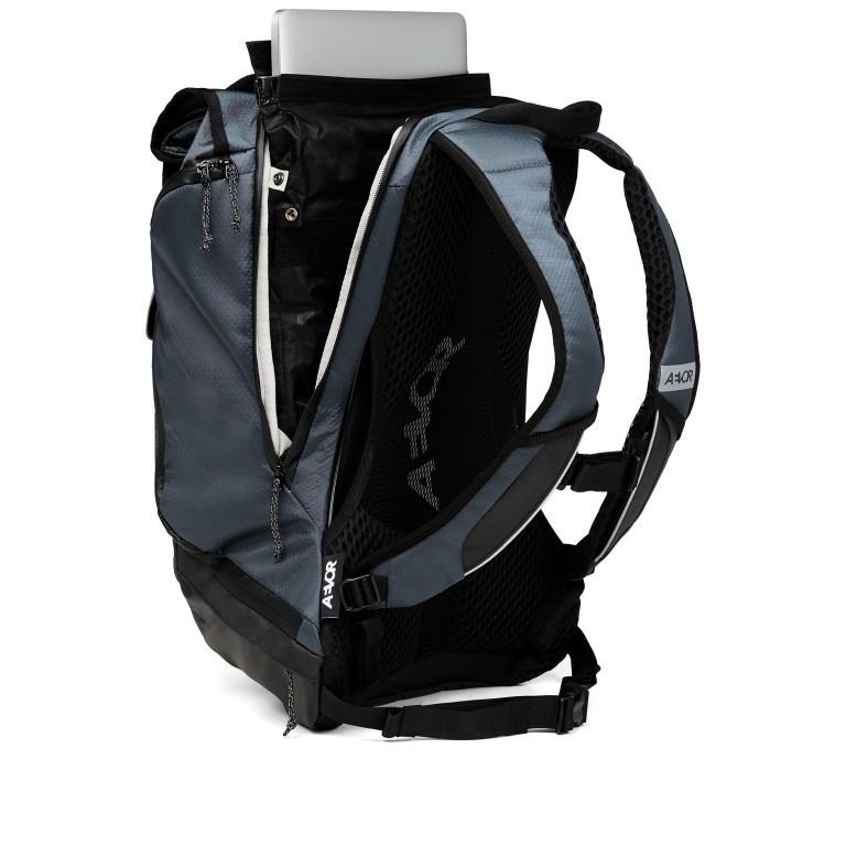 Fahrradtasche Bike Pack, Farbe: schwarz, blau/petrol, grün/oliv, Marke: Aevor, Abmessungen in cm: 38.0x51.0x17.0, Bild 8 von 15