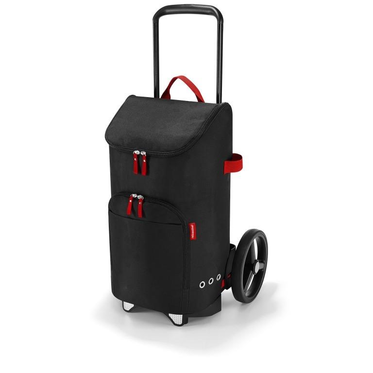 Einkaufsroller Citycruiser Set 2 teilig Rack + Bag Black, Farbe: schwarz, Marke: Reisenthel, Bild 1 von 14