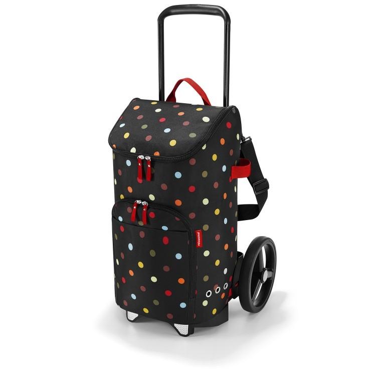 Einkaufsroller Citycruiser Set 2 teilig Rack + Bag Dots, Farbe: bunt, Marke: Reisenthel, Bild 1 von 14
