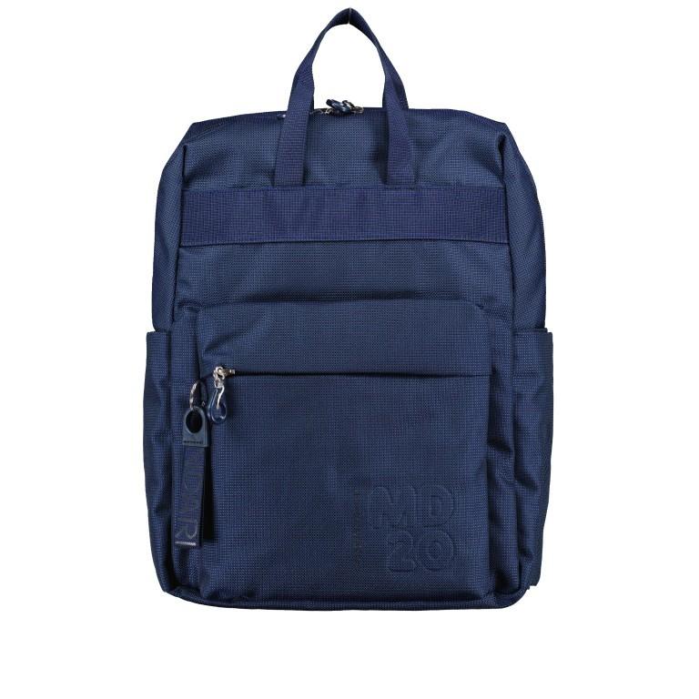 Rucksack MD20 QMT17 Dress Blue, Farbe: blau/petrol, Marke: Mandarina Duck, EAN: 8032803746863, Bild 1 von 8
