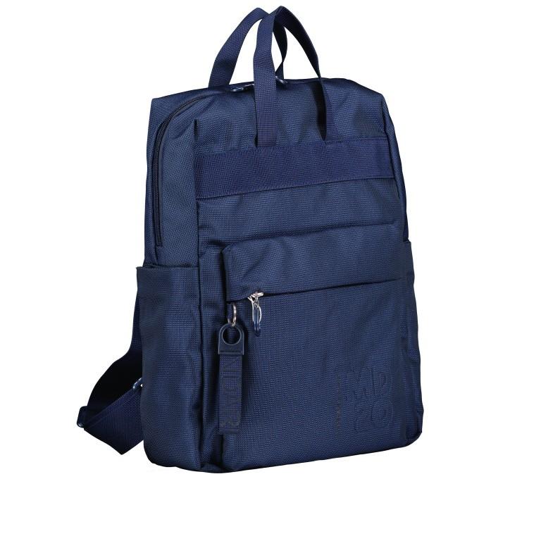 Rucksack MD20 QMT17 Dress Blue, Farbe: blau/petrol, Marke: Mandarina Duck, EAN: 8032803746863, Bild 2 von 8