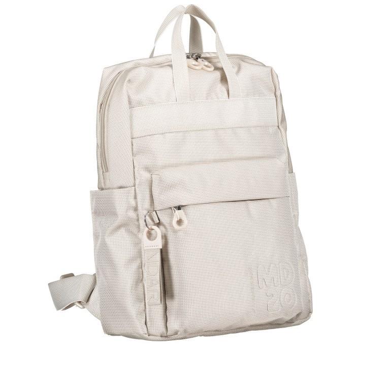 Rucksack MD20 QMT17 Off White, Farbe: beige, Marke: Mandarina Duck, EAN: 8032803746931, Bild 2 von 8
