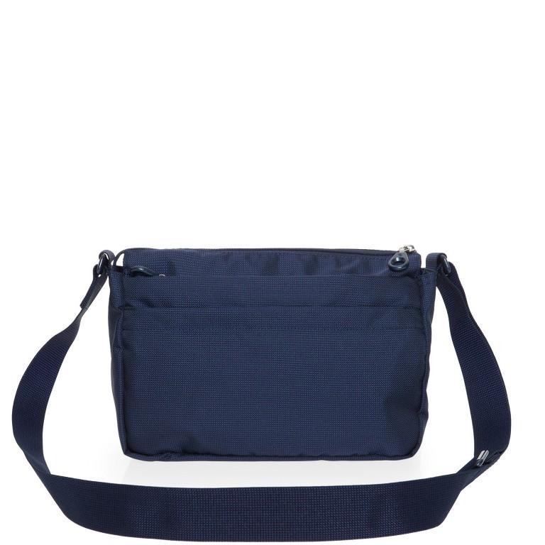 Umhängetasche MD20 QMTX5 Dress Blue, Farbe: blau/petrol, Marke: Mandarina Duck, EAN: 8032803657329, Abmessungen in cm: 28.0x19.0x11.0, Bild 3 von 7