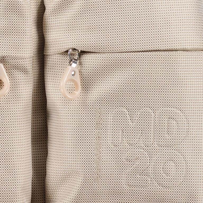Umhängetasche MD20 QMTX5 Off White, Farbe: beige, Marke: Mandarina Duck, EAN: 8032803747457, Abmessungen in cm: 28.0x19.0x11.0, Bild 7 von 7