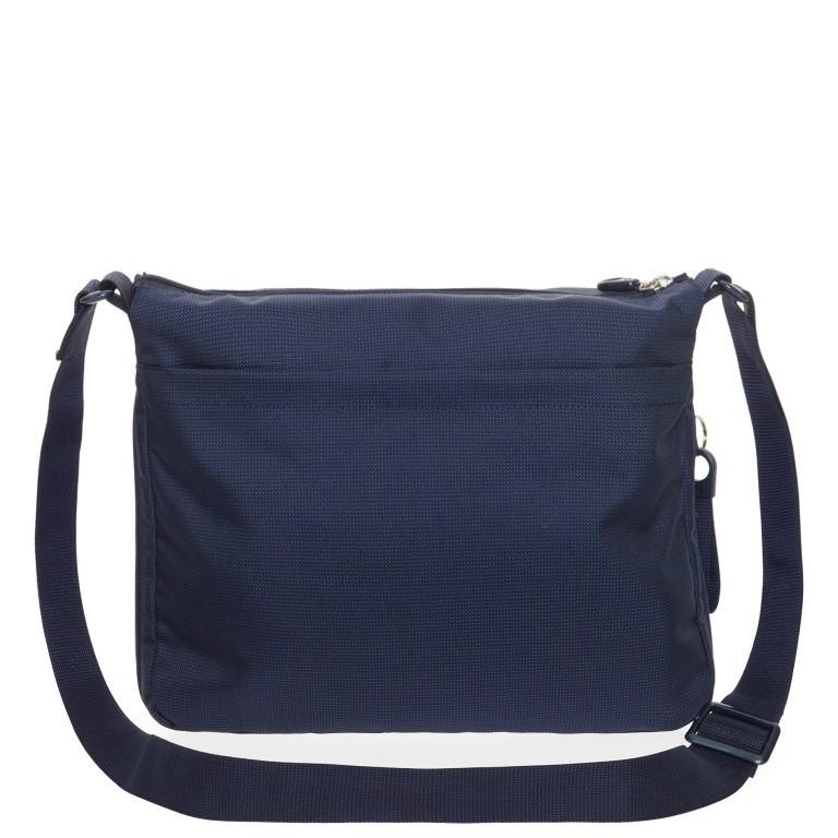 Umhängetasche MD20 QMTX6 Dress Blue, Farbe: blau/petrol, Marke: Mandarina Duck, EAN: 8032803659200, Abmessungen in cm: 33.0x28.0x7.0, Bild 3 von 5