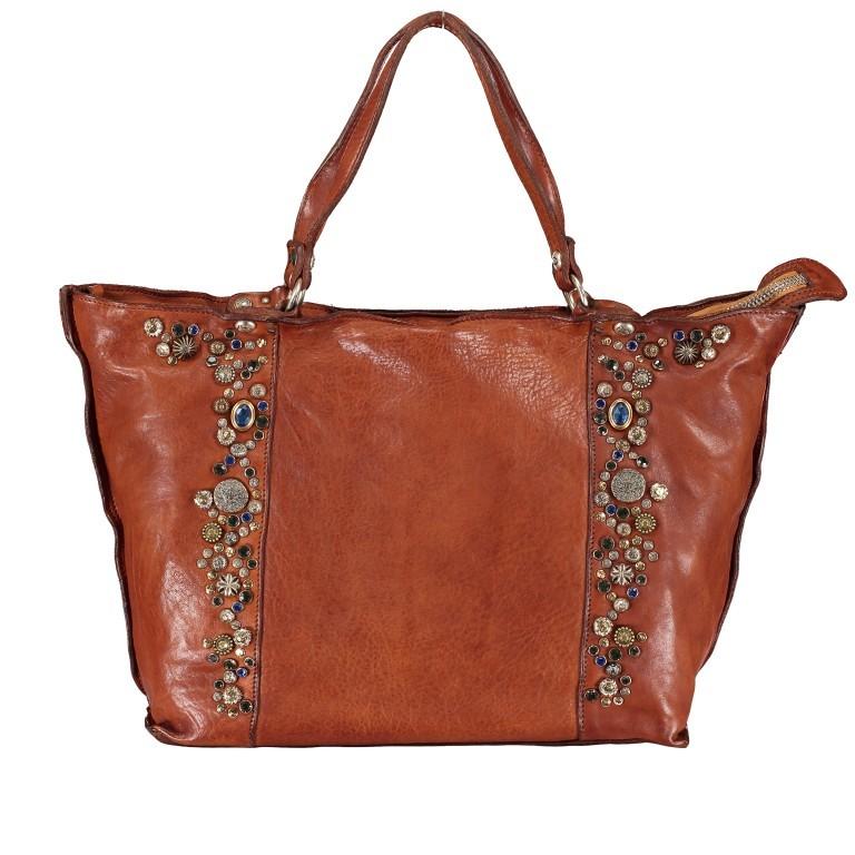 Handtasche Bella Di Notte 25840-X1572 Cognac, Farbe: cognac, Marke: Campomaggi, EAN: 8054302710220, Abmessungen in cm: 30.0/40.0x25.0x14.0/4.0, Bild 1 von 9
