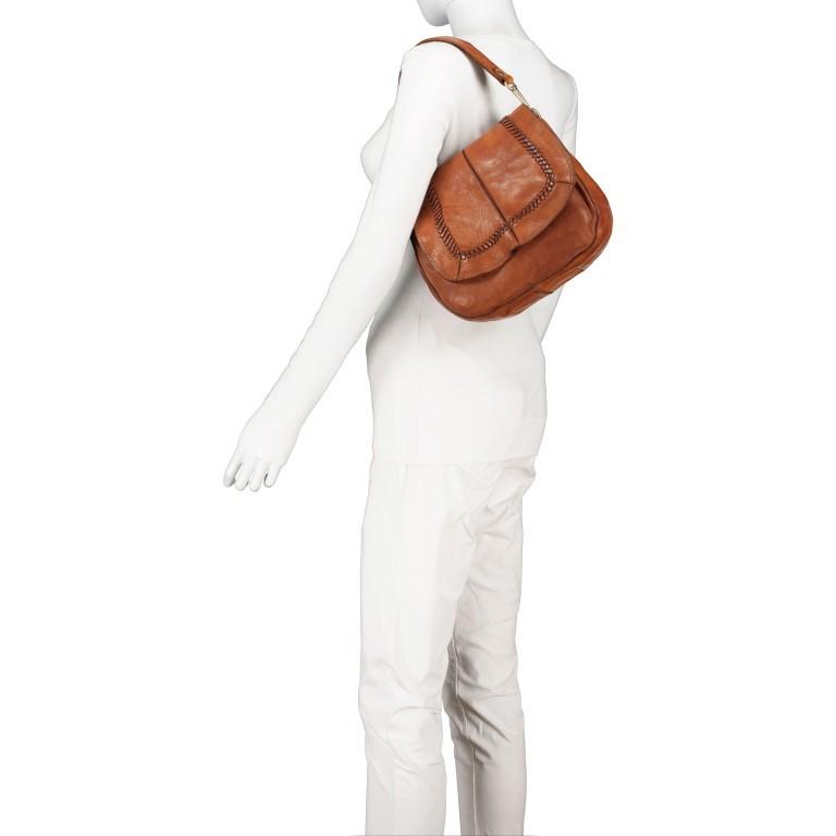 Satteltasche mit Overlock Cognac, Farbe: cognac, Marke: Campomaggi, EAN: 8054302708982, Abmessungen in cm: 26.0x24.0x9.0, Bild 5 von 9