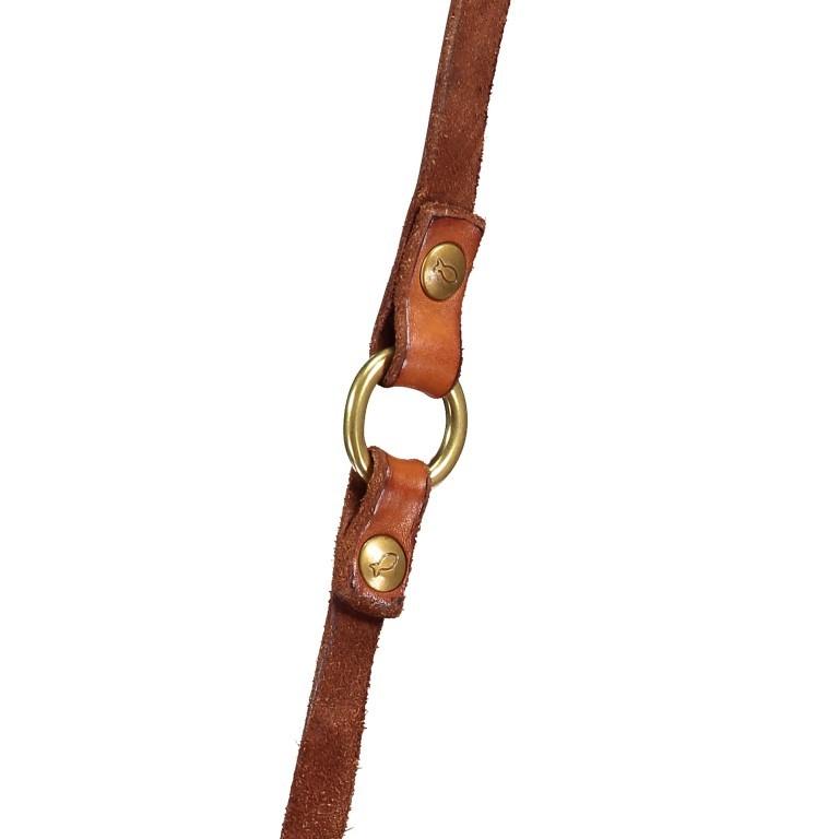Umhängetasche Cognac, Farbe: cognac, Marke: Campomaggi, EAN: 8054302714013, Abmessungen in cm: 24.0x18.0x5.0, Bild 7 von 8