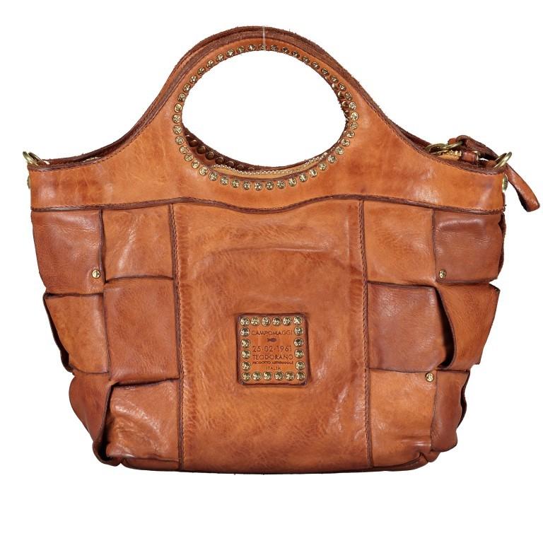 Handtasche Madaleno Cognac, Farbe: cognac, Marke: Campomaggi, EAN: 8054302728621, Bild 3 von 8