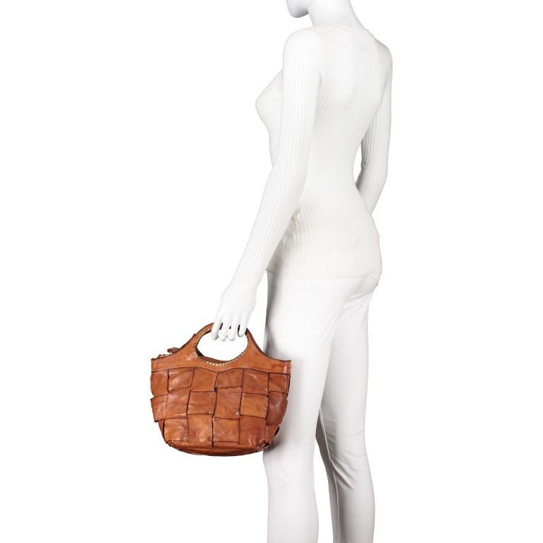 Handtasche Madaleno Cognac, Farbe: cognac, Marke: Campomaggi, EAN: 8054302728621, Bild 4 von 8