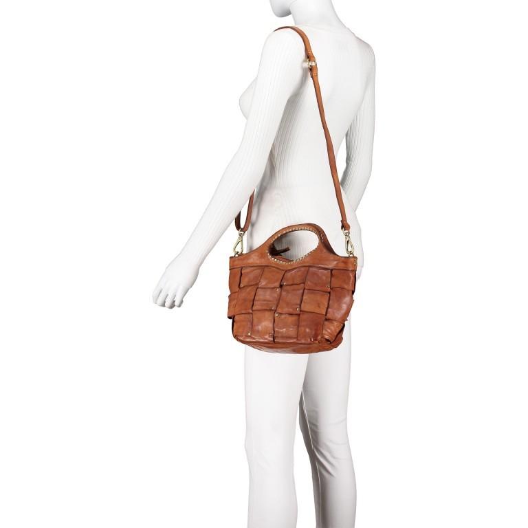 Handtasche Madaleno Cognac, Farbe: cognac, Marke: Campomaggi, EAN: 8054302728621, Bild 5 von 8