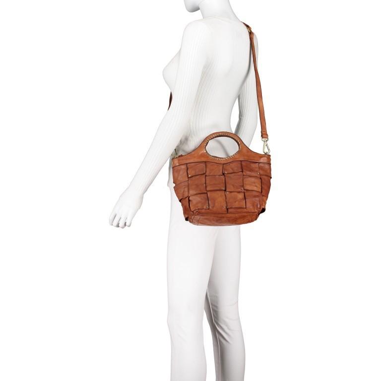 Handtasche Madaleno Cognac, Farbe: cognac, Marke: Campomaggi, EAN: 8054302728621, Bild 6 von 8