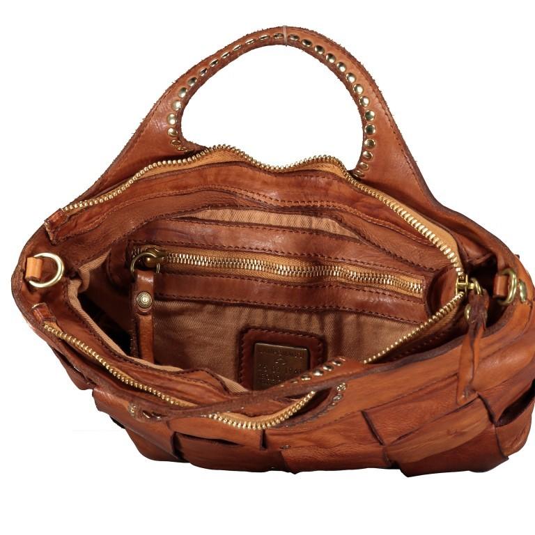 Handtasche Madaleno Cognac, Farbe: cognac, Marke: Campomaggi, EAN: 8054302728621, Bild 7 von 8
