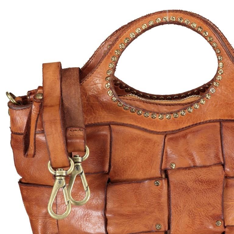 Handtasche Madaleno Cognac, Farbe: cognac, Marke: Campomaggi, EAN: 8054302728621, Bild 8 von 8