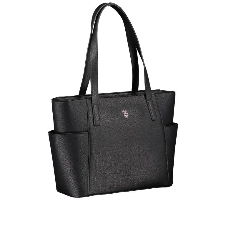 Shopper Jones Black, Farbe: schwarz, Marke: U.S. Polo Assn., EAN: 8052792910502, Abmessungen in cm: 28.5x24.0x11.0, Bild 2 von 6
