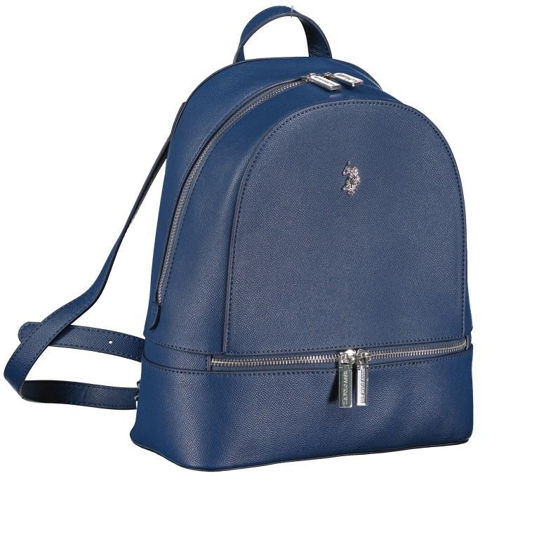 Rucksack Jones Navy, Farbe: blau/petrol, Marke: U.S. Polo Assn., EAN: 8052792910755, Abmessungen in cm: 25.0x29.0x12.0, Bild 2 von 6