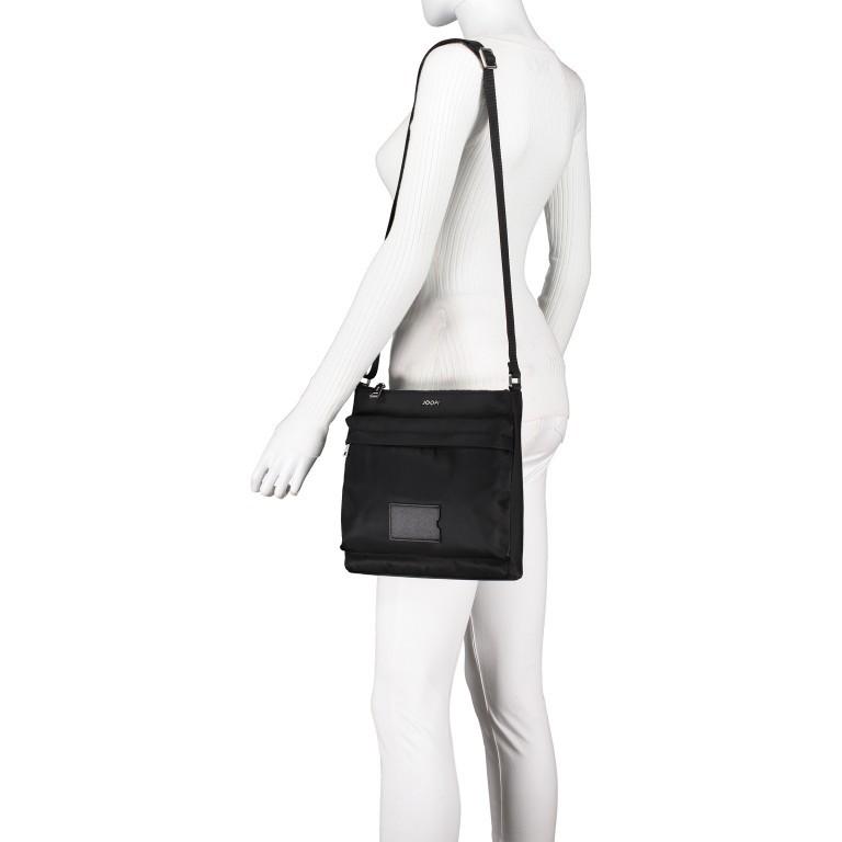 Umhängetasche Cimiano Medon XSVZ Black, Farbe: schwarz, Marke: Joop!, EAN: 4053533913619, Abmessungen in cm: 26.0x26.0x7.0, Bild 4 von 6