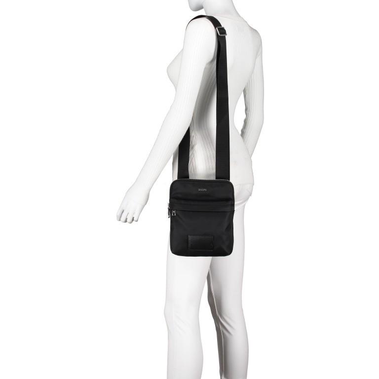 Umhängetasche Cimiano Mattia XSVZ Black, Farbe: schwarz, Marke: Joop!, EAN: 4053533913596, Abmessungen in cm: 20.0x24.0x4.5, Bild 4 von 6