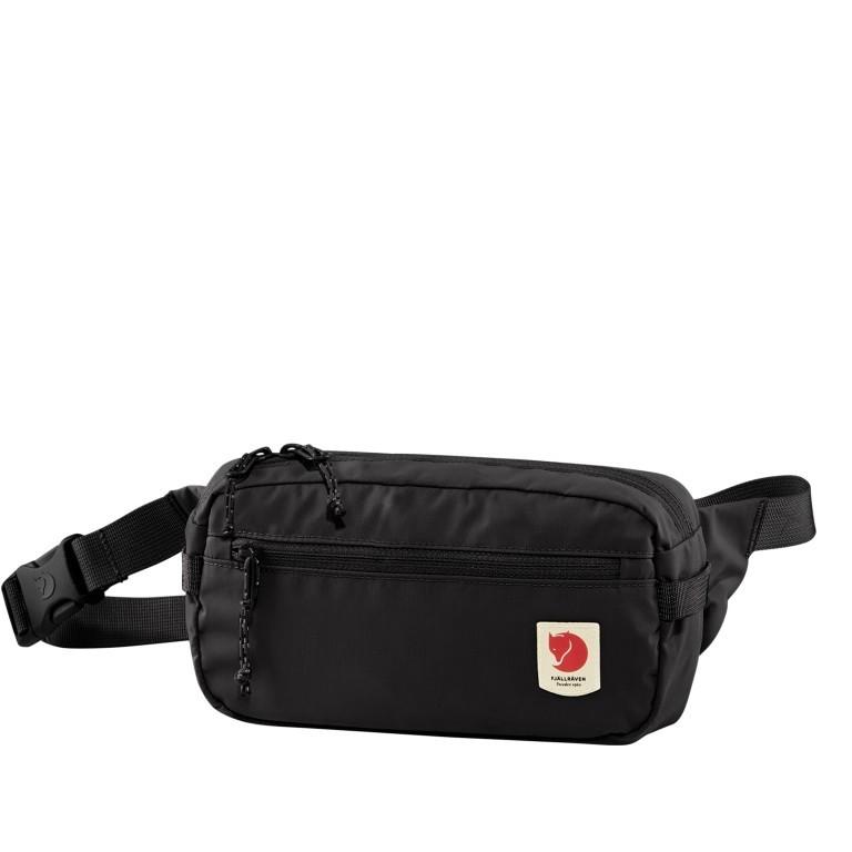 Gürteltasche High Coast Hip Pack Black, Farbe: schwarz, Marke: Fjällräven, EAN: 7323450642914, Abmessungen in cm: 21.0x12.0x6.0, Bild 1 von 10