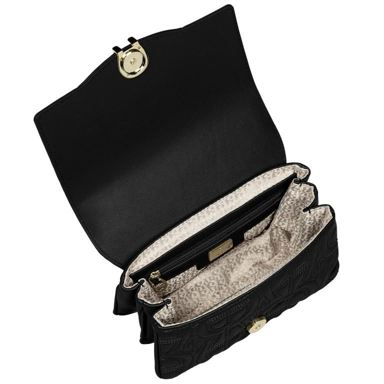 Umhängetasche Diadora XS Black, Farbe: schwarz, Marke: AIGNER, EAN: 4055539359224, Abmessungen in cm: 19.0x13.0x7.0, Bild 6 von 7