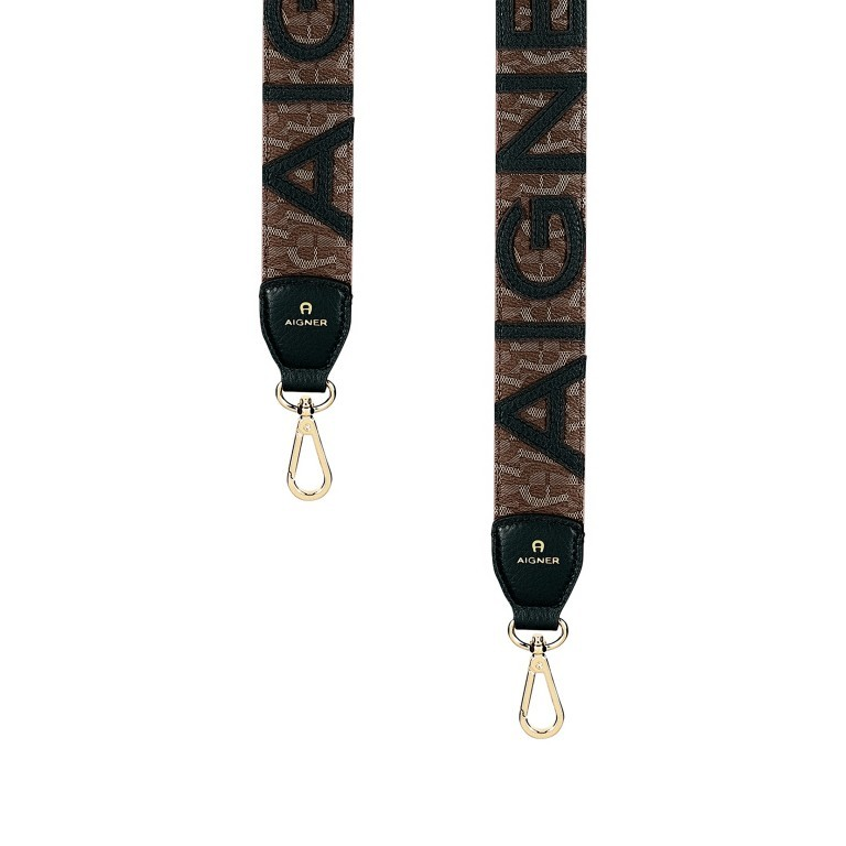 Schulterriemen 167-112 Black, Farbe: schwarz, Marke: AIGNER, EAN: 4055539271038, Bild 1 von 3