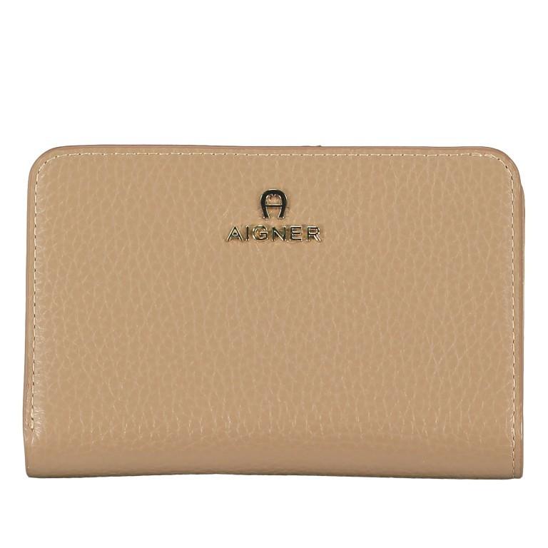 Geldbörse Ivy 152-232 Cashmere Beige, Farbe: beige, Marke: AIGNER, EAN: 4055539332258, Abmessungen in cm: 14.3x10.0x3.0, Bild 1 von 5