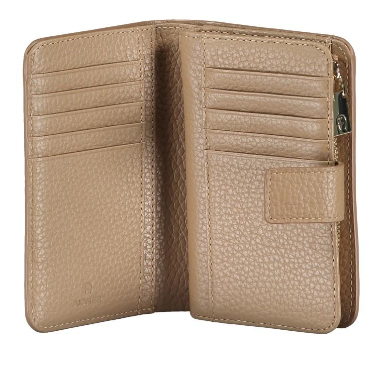 Geldbörse Ivy 152-232 Cashmere Beige, Farbe: beige, Marke: AIGNER, EAN: 4055539332258, Abmessungen in cm: 14.3x10.0x3.0, Bild 4 von 5