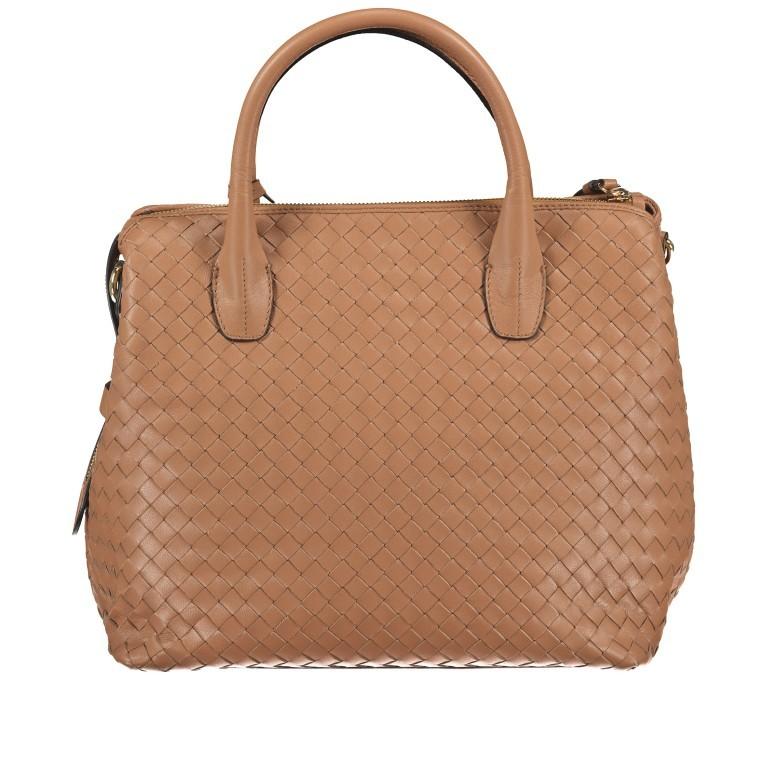 Handtasche Gunda Small Camel, Farbe: cognac, Marke: Abro, EAN: 4061724694612, Abmessungen in cm: 27.0x25.0x14.0, Bild 3 von 9