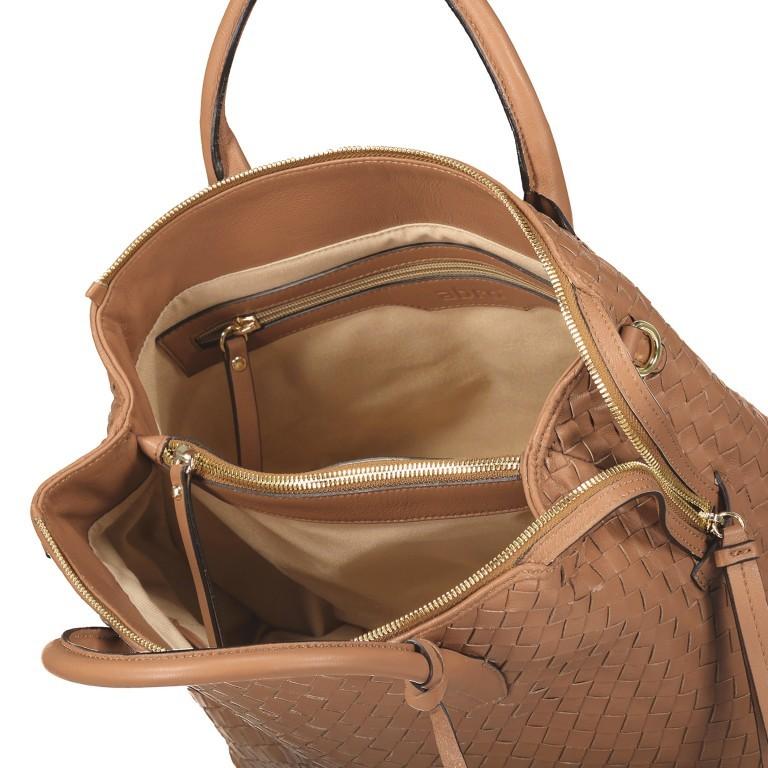 Handtasche Gunda Small Camel, Farbe: cognac, Marke: Abro, EAN: 4061724694612, Abmessungen in cm: 27.0x25.0x14.0, Bild 7 von 9