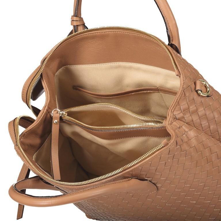 Handtasche Gunda Small Camel, Farbe: cognac, Marke: Abro, EAN: 4061724694612, Abmessungen in cm: 27.0x25.0x14.0, Bild 8 von 9