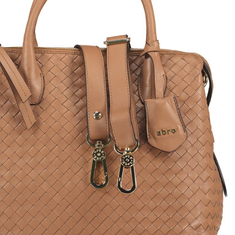 Handtasche Gunda Small Camel, Farbe: cognac, Marke: Abro, EAN: 4061724694612, Abmessungen in cm: 27.0x25.0x14.0, Bild 9 von 9