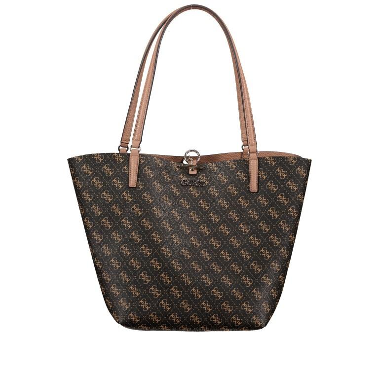 Shopper Alby Brown Logo Mocha, Farbe: braun, Marke: Guess, EAN: 0190231448358, Bild 1 von 13