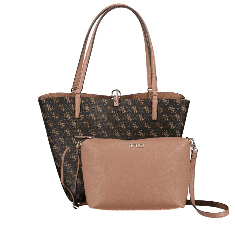 Shopper Alby Brown Logo Mocha, Farbe: braun, Marke: Guess, EAN: 0190231448358, Bild 12 von 13