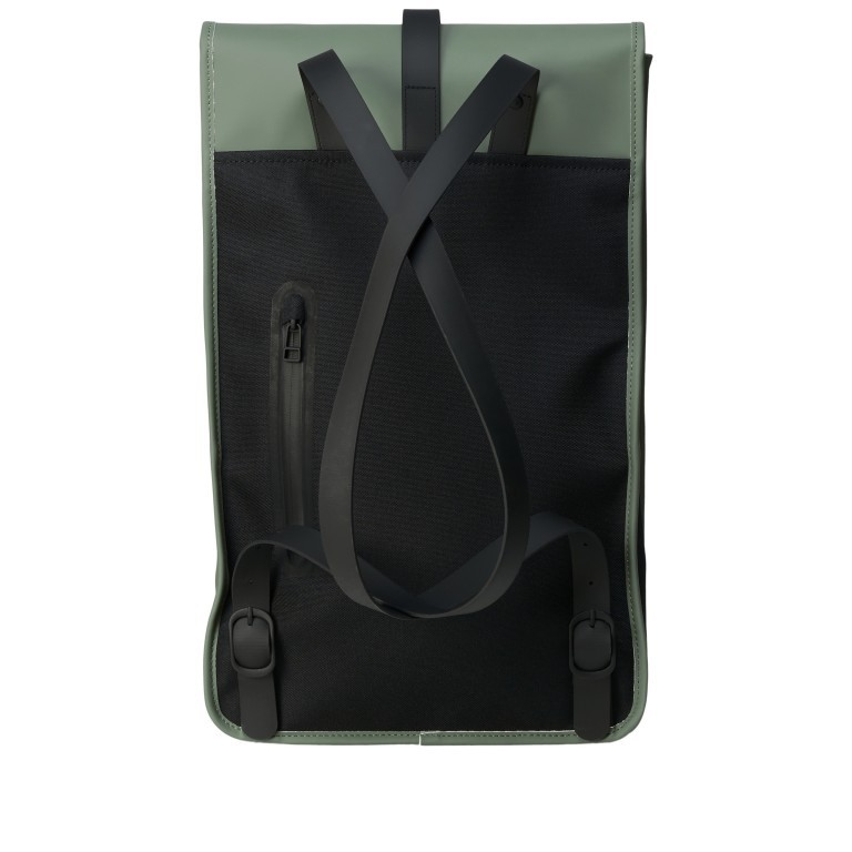 Rucksack Backpack Olive, Farbe: grün/oliv, Marke: Rains, EAN: 5711747469153, Abmessungen in cm: 28.5x47.0x10.0, Bild 2 von 5