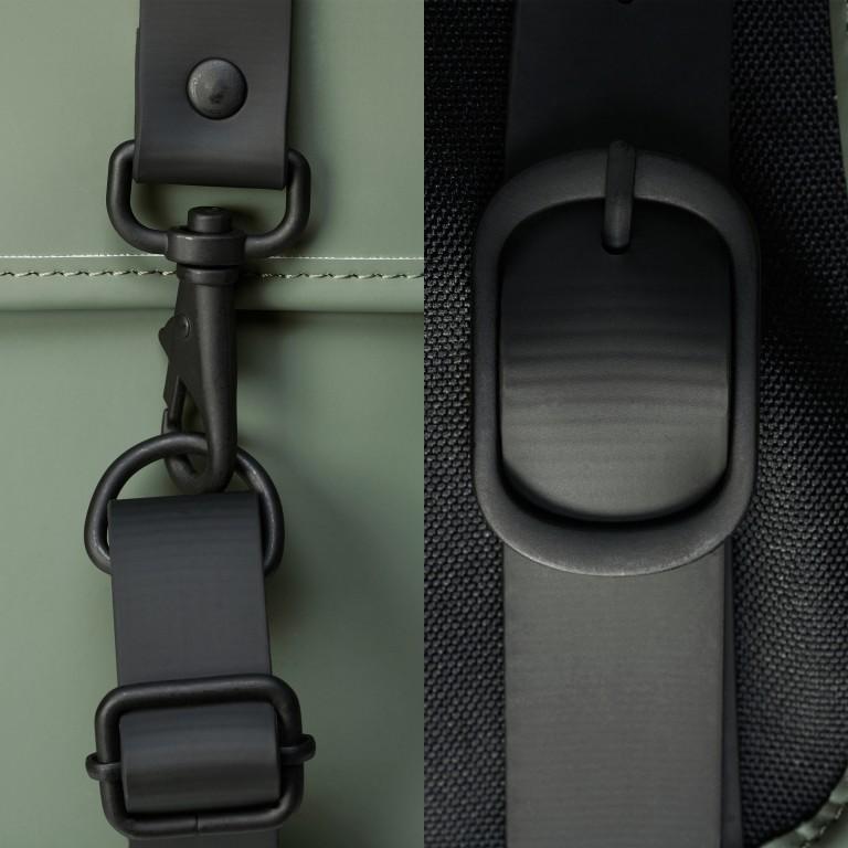 Rucksack Backpack Olive, Farbe: grün/oliv, Marke: Rains, EAN: 5711747469153, Abmessungen in cm: 28.5x47.0x10.0, Bild 5 von 5