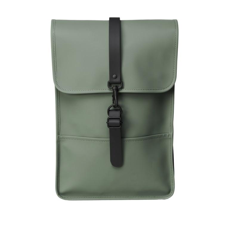 Rucksack Backpack Mini Olive, Farbe: grün/oliv, Marke: Rains, EAN: 5711747469610, Abmessungen in cm: 27.0x39.0x8.0, Bild 1 von 5