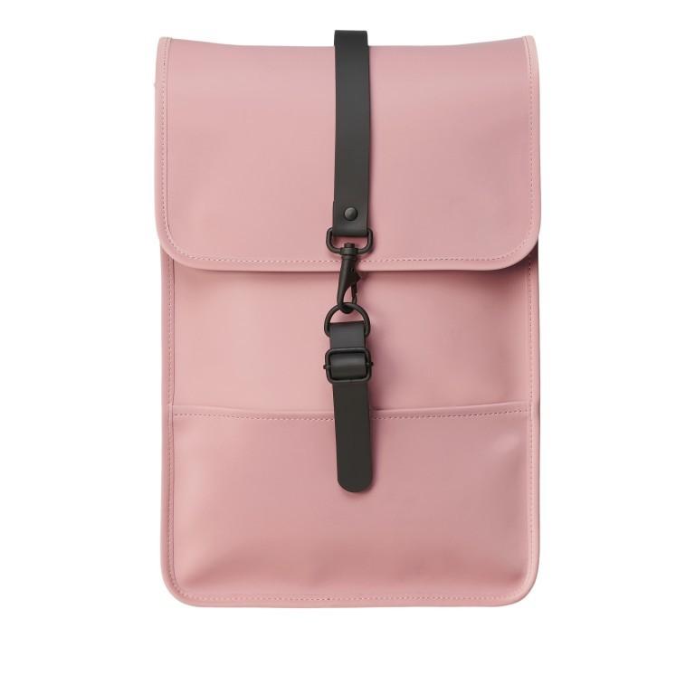 Rucksack Backpack Mini Blush, Farbe: rosa/pink, Marke: Rains, EAN: 5711747469627, Abmessungen in cm: 27.0x39.0x8.0, Bild 1 von 5