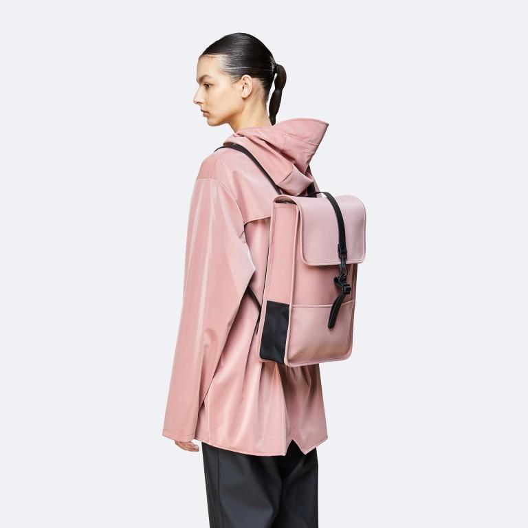 Rucksack Backpack Mini Blush, Farbe: rosa/pink, Marke: Rains, EAN: 5711747469627, Abmessungen in cm: 27.0x39.0x8.0, Bild 3 von 5