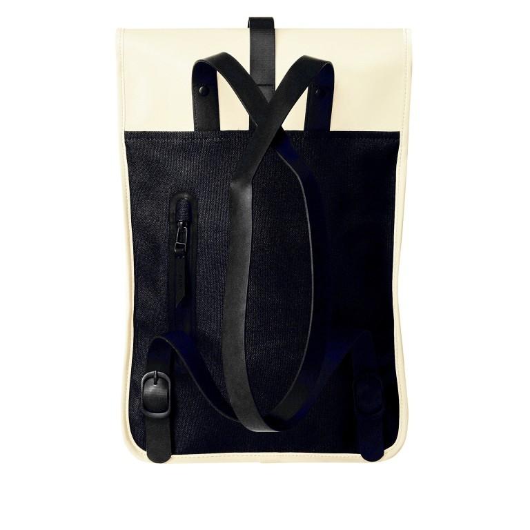 Rucksack Backpack Mini Pearl, Farbe: beige, Marke: Rains, EAN: 5711747469634, Abmessungen in cm: 27.0x39.0x8.0, Bild 2 von 5